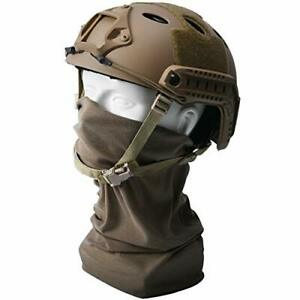 Fast PJ Paintball Airsoft Helmet for Training Rescue Climbing Riding Jumping $68.28