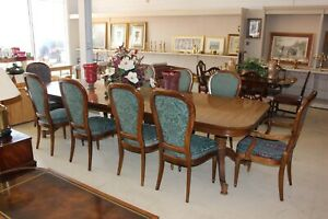 Gorgeous Vintage Hickory Chair Company Table Chairs And China Hutch