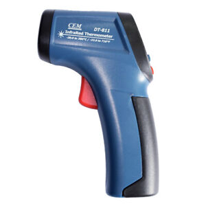 Cem Dt 811 Mini Infrared Thermometer Auto Range Lcd Display Kd