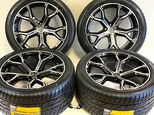 20 9 5 10 5 Black M Stgdd Wheels Fit Bmw X5 E70 F15 Bmw X5 X6m Rims tires 112mm
