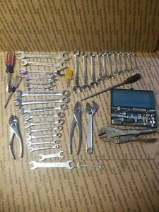 Lot Craftsman S K Great Neck Proto Vise Grip Crescent Tools Screwdriver Wrenches