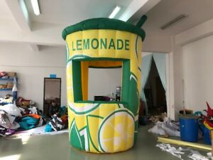 12ft 3 5m Inflatable Lemonade Concession Stand Event Drink Tent Booth Free Ship