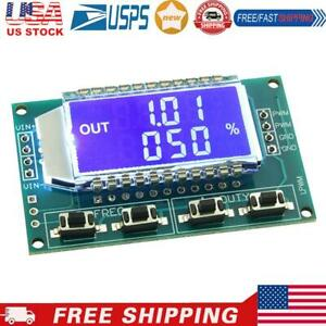 Signal Generator Pwm Pulse Frequency Duty Cycle Adjust Module Lcd Display