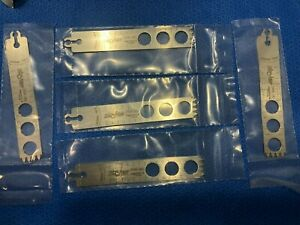 Lot 5 Sealed Stryker Aggressive Tooth Blade Wide Thick Long No Packaging H35 kp
