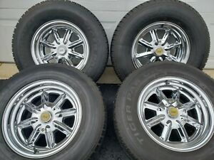 Hot Rod Rad Rod Roadster Ford Muscle Car Truck 15 Chrome Rims And Tires