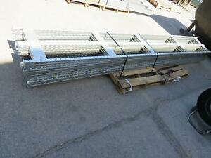 Industrial Warehouse Shelving Uprights 15 Ft X 24 T159290