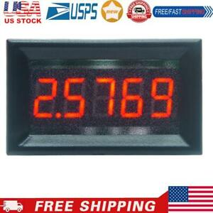 0 36inch Led Display High Precision Ammeter Panel Current Meter 0 50 000ma