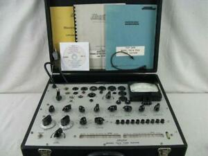 Hickok 752a Mutual Conductance Tube Tester calibrated Near Perfect Specs