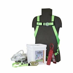 Peakworks Fall Protection Roofer s Kit Complete New unopened Container