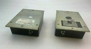 Pelco Git100 Lot Of 2 Ground Loop Isolation Transformer For Cctv Used