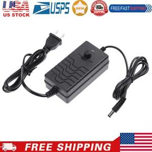 Ac To Dc Adapter 24 36v 2a Adjustable Power Supply Speed Controller us