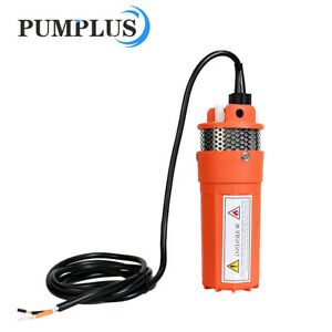 12v 70m Head Submersible Deep Well Solar Bore Water Pump Self priming W Battery