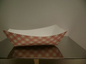 Superior Paper Food Tray 300 Paper Boat Fries nachos Concessions 500 box