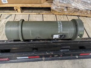 US Military Ammo Can Tube Round time capsule Short $39.99
