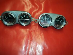 Corvette 1962 4 Small Dash Gauges Complete Will Fit 1958 1961 Too