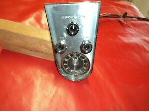 Corvette 1958 1959 1960 Heater clock Center Console Assembly Will Fit 61 62 To