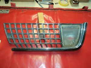 Corvette 1970 Left Front Outer Grille Assembly Will Fit 1971 1972