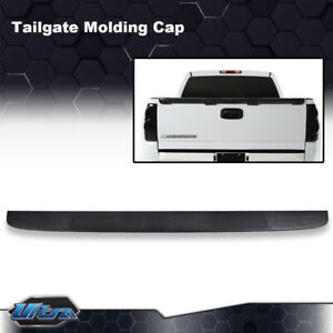 Tailgate Spoiler Cap Molding Top Protector Fit For 99 07 Chevy Silverado Gmc Fits More Than One Vehicle