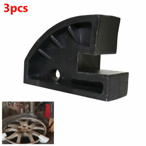 3pcs Car Suv Tire Tyre Changer Move Wheel Center Disassembly Repair Clamp Tools