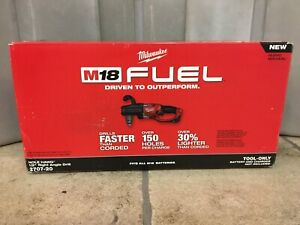 Milwaukee 2707 20 1 2 M18 Fuel Hole Hawg Right Angle Drill
