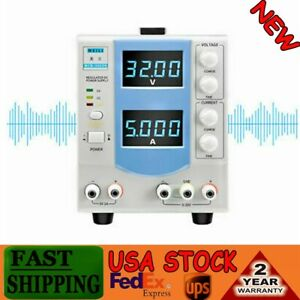 Variable Linear Adjustable Dc Bench Power Supply Hand held Circuit Design 110v