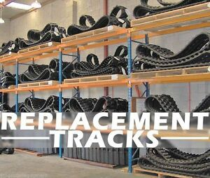 Takeuchi Tl130 tl230 tl8 Skid Loader Replacement Track Set Of 2 Dominion Brand