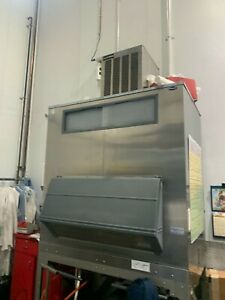 Ice o matic Self Contained 1000 Lb Flaker Air Cooled Includes Follet Bin