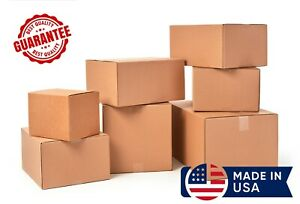 Cardboard Shipping Boxes Many Sizes Available 25 50 75 100 200 Qty