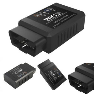 Elm327 Wifi Obd 2 Obdii Auto Car Diagnostic Scanner Scan Tool For Ios Androi s1