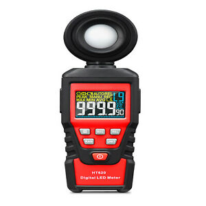 Digital Lcd Lux Light Meter With 0200 000lux Luminance Tester Handheld Led