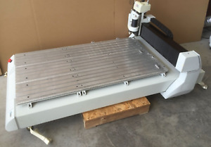 Hermes Gravograph Is8000 Large Format Rotary Engraving And Router Solution