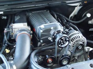 Whipple 2 3l Supercharger Intercooled No Tuner Kit Gm Gmc Chevy 03 06 6 0l Truck