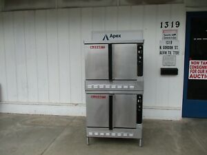 Blodgett Convection Double Oven Natural Gas 115v Works Great 5781