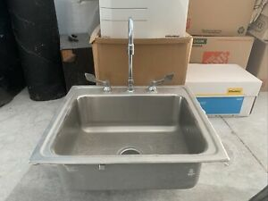 Used Commercial Stainless Steel Sink