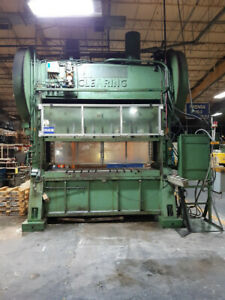 Clearing S2 150 Ton Straight Side Press