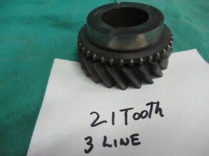 Gm Super T10 4 Speed 21 Tooth 3rd Gear Nice Used 3 Line