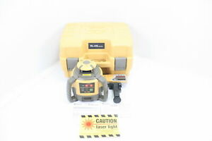 Topcon Rl h5a Self Leveling Horizontal Rotary Laser W Hard Carrying Case Yellow