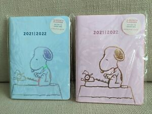 Peanuts Snoopy 14 Month Planner Graphique July 2021 August 2022