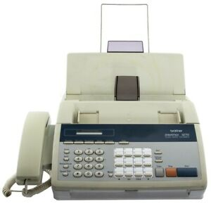 Brother Intellifax 1270 With Manual Tested Works Great Plain Paper Fax