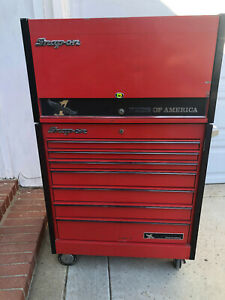 Snap On Kr657pa Kr637pa Pride Of America Toolbox Tool Chest And Roll Cabinet
