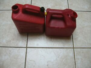 Pre Ban Heavy Duty Rubbermaid 1gal 4oz Gas Can Vented For Fast Pour no Spout