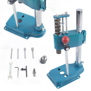 Leather Imprinting Embossing Machine Diy Manual Leather Hole Punching Tool