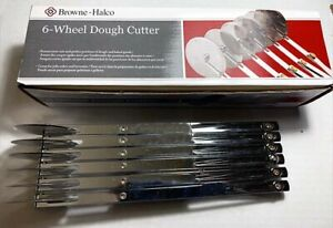 Browne Halco Food Service Professional 6 Wheel Dough Cutter New In Box