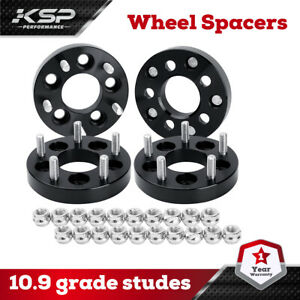 4pcs 1 Inch Wheel Spacers 5x4 5 For Ford Mustang Lincoln Mercury Jeep 1 2 Studs