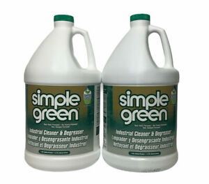 2 pk Simple Green Industrial Cleaner Degreaser 1 Gallon 2710200613005