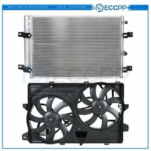 Ac Condenser Cooling Fan Kit For 2007 2012 Ford Edge 2007 2011 Lincoln Mkx