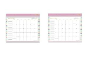 2 pk 2021 At a glance 17 X 21 75 Desk Pad Calendar Simplified By Emily Ley