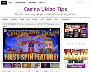 Casino Video Tips Blog Website Business For Sale W Auto Updating Content