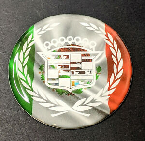 Mexican Cadillac Dayton Wire Wheel Chips Emblems Decals Set Of 4 Size 2 25in