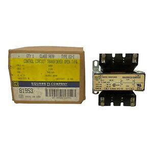 Square D Industrial Control Circuit Transformer Class 9070 Type Eo 1 81935